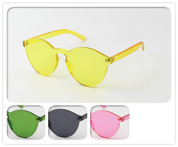COLOR THERAPY STYLE, INJECTION MOLD 4 COLOR SUNGLASSES